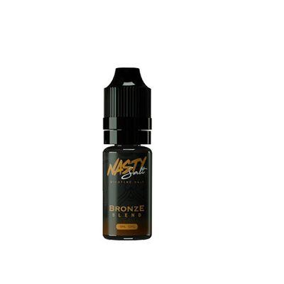 Nasty Juice - Bronze Blend (10ml, 20mg Nic Salt)