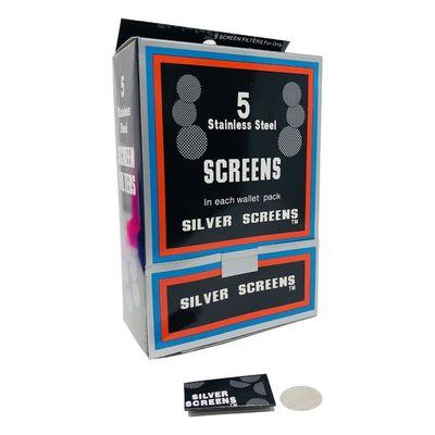 Premium Silver Screens - 5 Pack