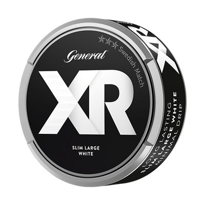 XR General Slim White Portionssnus