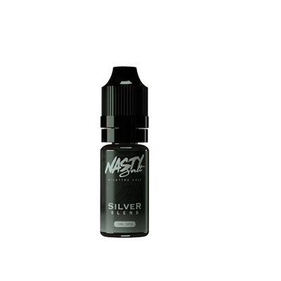 Nasty Juice - Silver Blend (10ml, 20mg Nic Salt)