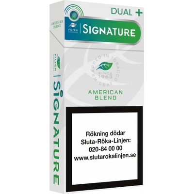 Signature American Blend Dual +