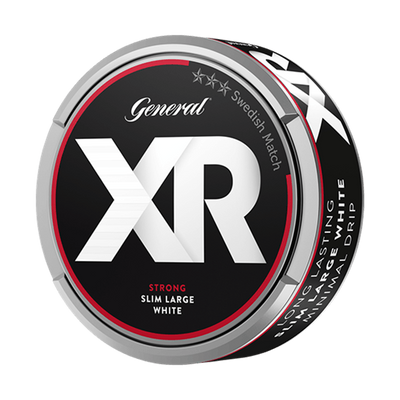 XR General Strong Slim White Portionssnus