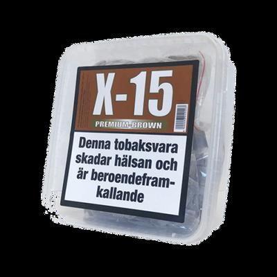 X-15 Premium Brown Portionssnus