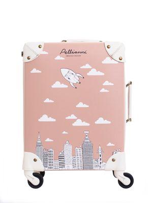 City suitcase rose