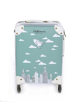 City suitcase aqua